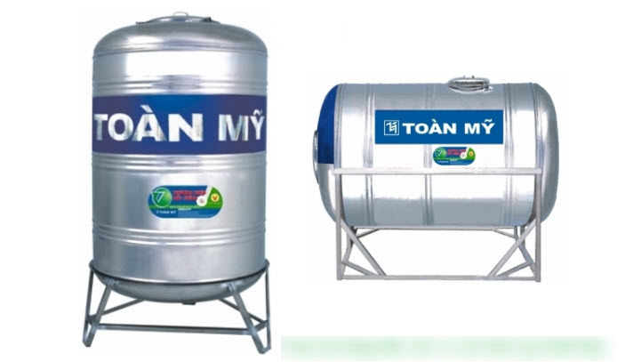 Những lưu ý khi lắp bồn chứa nước cho gia đình để được an toàn & chắc chắn