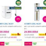 Bảng giá máy lọc nước tại TP Vinh, Nghệ An và Hà Tĩnh cập nhật mới nhất năm 2019