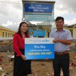 Công ty CPKarofi Việt Nam hỗ trợ nước sạch tại Đức Hiệp Quảng Ngãi