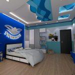 Tư vấn thi công trần thạch cao phòng ngủ ở TP Vinh, Nghệ An đẹp & lãng mạn