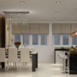 Những mẫu trần thạch cao phòng khách ở Vinh đẹp & giá lắp đặt cực rẻ
