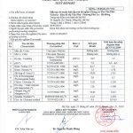 Đã có kết quả xét nghiệm nước sinh hoạt tại chung cư Văn Phú-Victoria