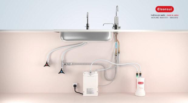 Máy lọc nước mitsubishi cleansui có tốt không? nên mua ở đâu tại Nghệ An 2