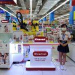 Máy lọc nước Mitsubishi Cleansui phủ sóng các siêu thị lớn